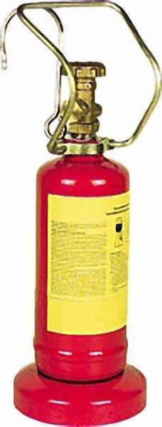 Propan - Leichtstahlflasche mit Flaschenventil u. Standfuß Kleinstflasche 0, 5 kg (leer)