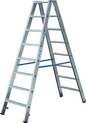 Stufen-DoppelLeiter Arbeitshöhe 4, 60 Standhöhe 2, 80 Lönge 3,04 Stufen 2x12