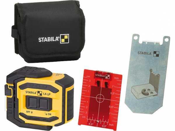 5-Punkt-Laser Stabila LA5P