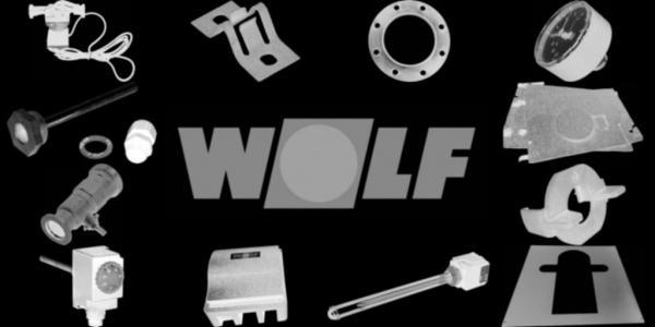 WOLF 8907154 Verkleidung oben vorne, Weiß