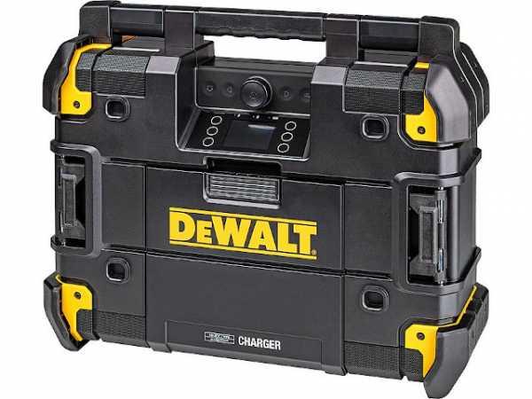 Akku- und Netz-Baustellenradio DeWALT DWST1-81078 kompatibel mit DeWALT TSTAK-SYSTEM