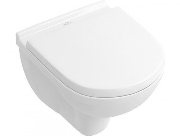Combi-Pack V&B O.Novo Wand-Tiefspül-WC compact + WC- Sitz softclose,weiß