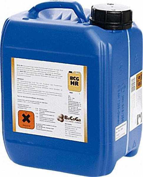 BCG Rohrreiniger -HR Kanister = 5 Liter