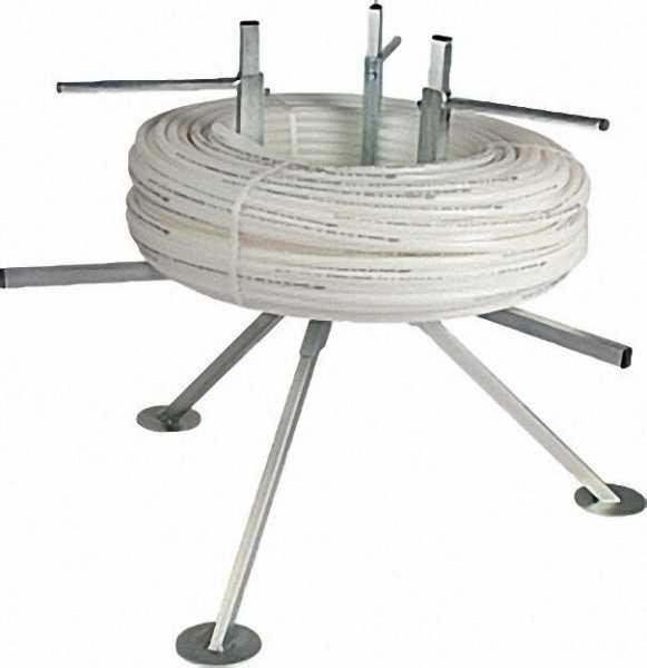 Rohrhaspel Dreibein, 4-armig bis 600m PE-Rohre