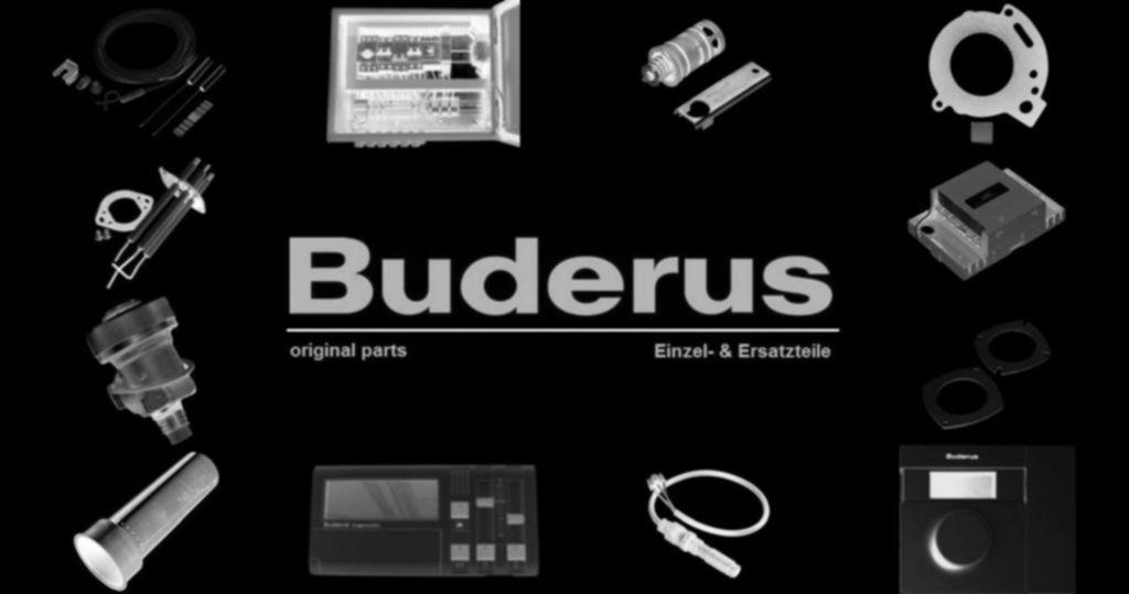 """Buderus 87183101260 Schlauch 1 1/2"""" L=695"""