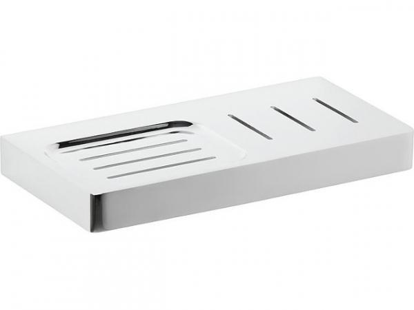 Ablagekonsole+Seifenablage Erma L=200mm Messing verchromt inkl. Befestigung