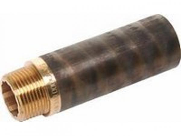 Hahnverlängerung Rotguss, 3/8x25mm IG/AG mit Innenvielkant Kupferrohre Schraubfittings