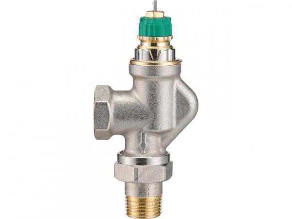 Danfoss 013G7710 Thermostat-Ventilunterteil s Dynamic Valve RA-DV DN15(1/2') UK Axial