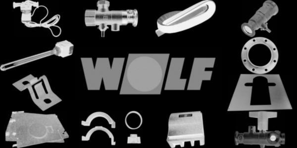 WOLF 8700261 Bodenblech