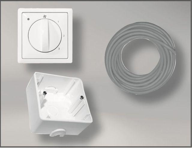 2744518Z01-160 Paket Zubehör Anschlußset für CWL DN 160