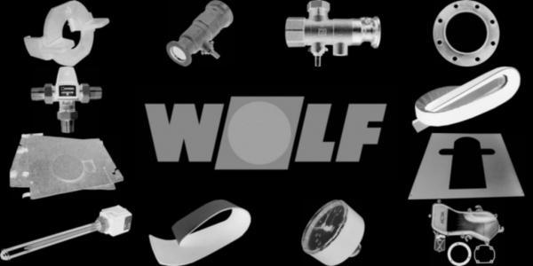 WOLF 8900866 Verkleidung Rückwand, Safir