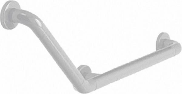 Winkelgriff Fb. schwarz 501 x 312mm, 135°, aus Nylon, korrosionsgeschützter Stahlkern