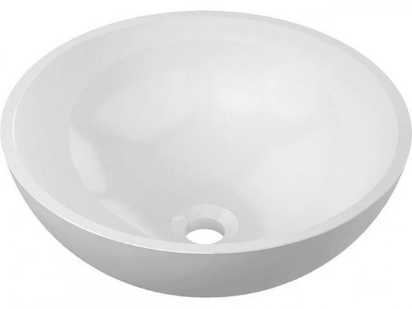 EVENES Design-Aufsatz-WT LISA øxH:420x160 mm aus Mineralguss