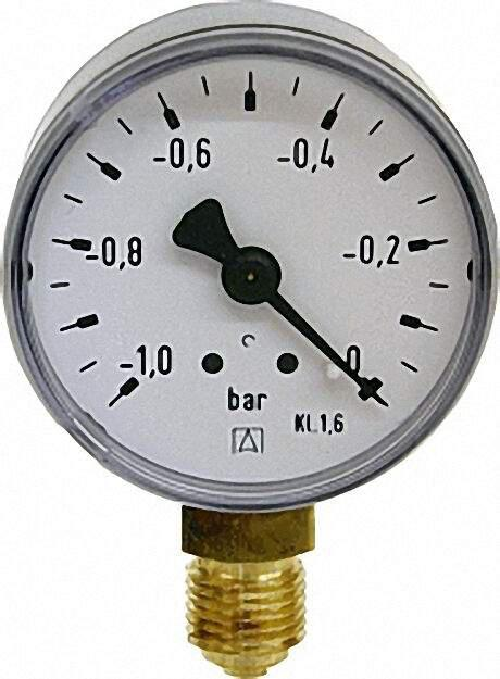 Manometer 0-10bar 50mm für G1/4