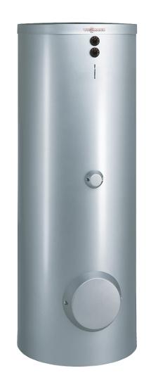 VIESSMANN Z013674 Vitocell 100-B CVBB, mit 2 Heizw., 300 Liter Speicherinhalt, vitosilber