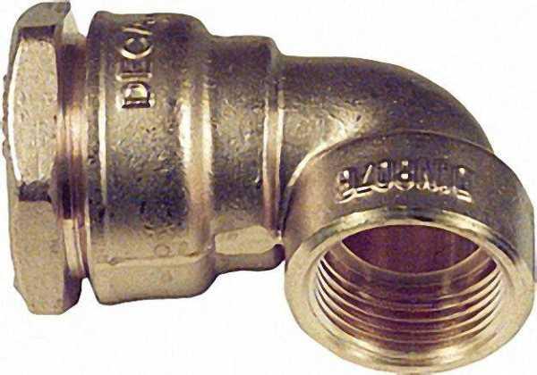 Winkelanschlussverschraubung mit IG Typ 868 3/4''x25mm nicht für Gas geeignet