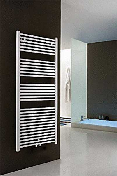 Badheizkörper mit Mittelanschluss, Größe: 1250x460mm, Farbe: weiß