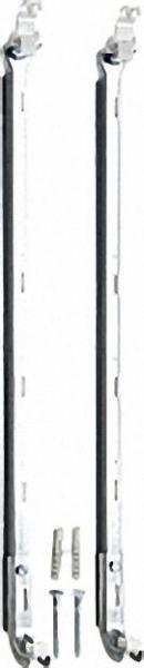 Universal Kombikonsole 2 Stück für Bauhöhe 300 - 600mm inklusive Schrauben und Dübel