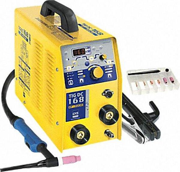 WIG-Schweißinverter, einphasig Typ GYSMI TIG 168 HF DC