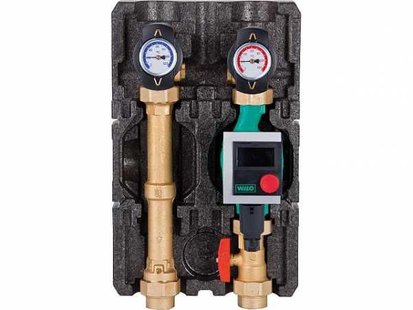 Heizkreisset K32 Heat Bloc DN 25(1') mit Isolierung ohne Pumpe