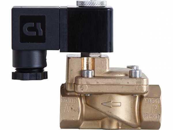 GSR B51251001182 Magnetventil servogesteuert G 1'' DN 25, 0,5-40 bar, Messing stromlos geschl. 230 V