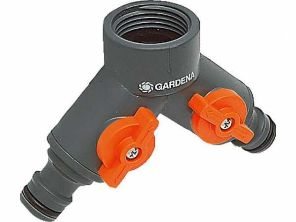 GARDENA 2-Wege-Ventil 1'' für 3/4'' Hahn