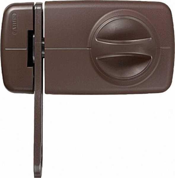 ABUS -Tür-Zusatzschloss 7030 B EK braun
