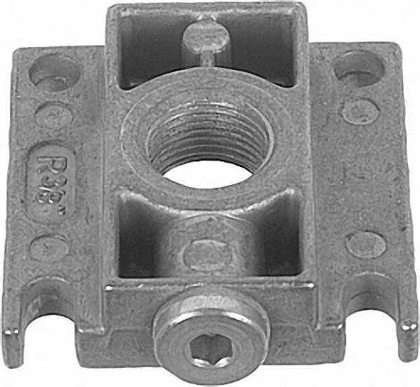 Anschlussflansch Rp 1/2'' passend für Gas-Multi-Bloc 403