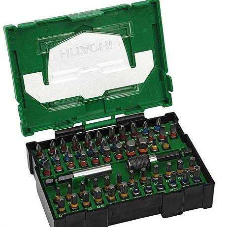 HITACHI Bit-Box 60-teilig, 25mm