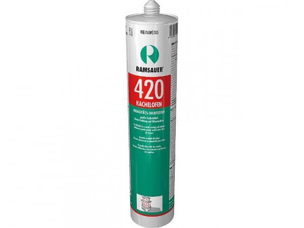 RAMSAUER Kachelofen 420, temperaturbeständige Fugendicht- masse, nussbraun, 310 ml