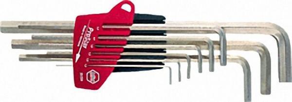 Sechskant Stiftschlüsselsatz 9-teilig, SW 1,5-10