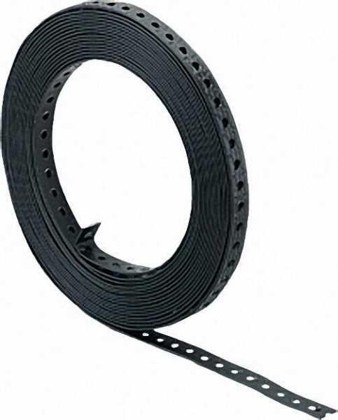 Lochband kunststoffummantelt Breite 19mm Rolle mit 10m