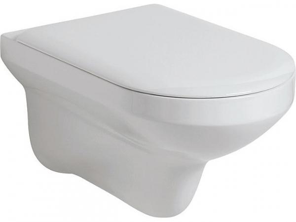 Wand-Tiefspül-WC THIN, BxHxT 360x330x560mm aus Keramik, weiß