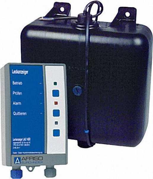 AFRISO Leckanzeigegerät-LAG 14 ER mit Relais für zusätzl. Warneinrichtung mit Behälter (schwarz) eig