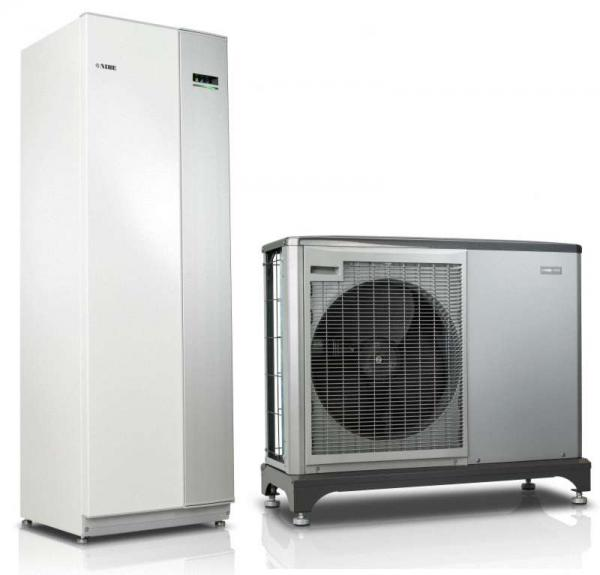 NIBE Systempakete Luft-Wasser-Wärmepumpen F2040 mit Inneneinheit VVM 320