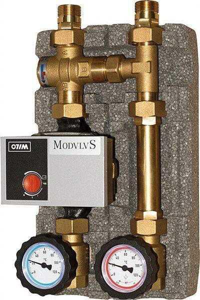 "Festbrennstoffladeset Easyflow DN20 (3/4"") Öffnungstemp. 60°C Pumpe Yonos Para RS 15/6 RKC"