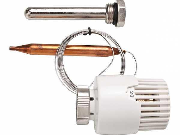 Thermostatkopf mit Fernfühler zu Art. Nr.: 101007345 + 101007344