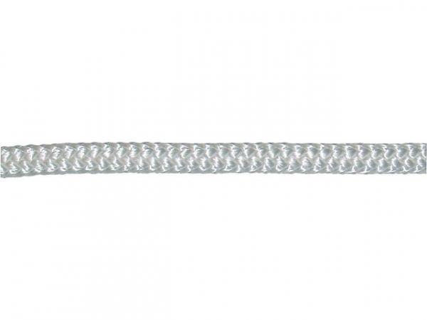 GEWA-Faserseil, Polyamid geflochten d= 6mm, Länge 10m Farbe weiß