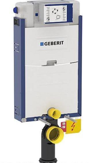 GEBERIT Kombifix Element für Wand-WC 112cm, mit Omega UP-SPK 12cm Bet. vorne/oben
