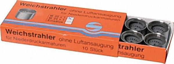 Weichstrahlregler-Niederdruck ohne Prüfür IG M22X1 mit Gummidichtung ohne Zahnkranz VPE 10 Stück