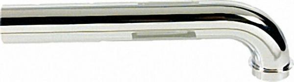 Abgangsbogen 90° Messing verchromt 32 x 250mm