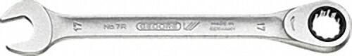 GEDORE Maulschlüssel mit Ring- ratsche, Type 7 R 27