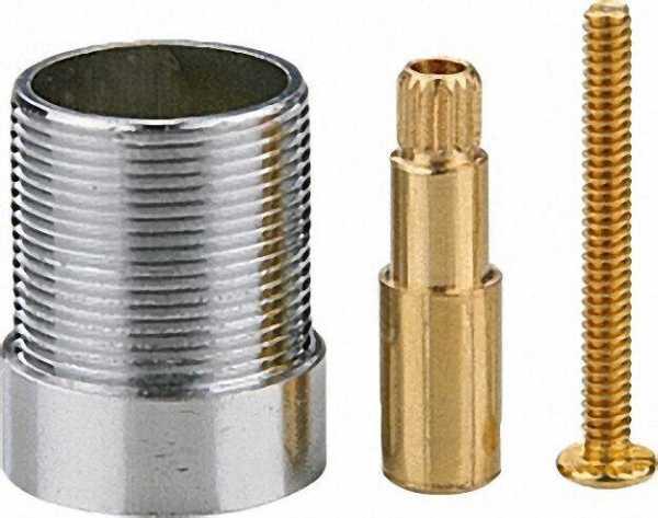 PPR Rohr Aqua-Plus Spindelverlängerung für Absperrhahn 20/25mm