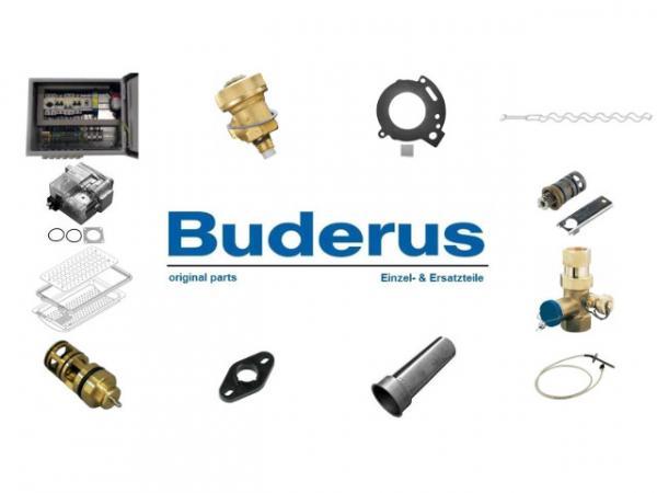 Buderus 87090072 Erweiterungsset Abgaskaskade für 1-Kessel, DN315, GB162