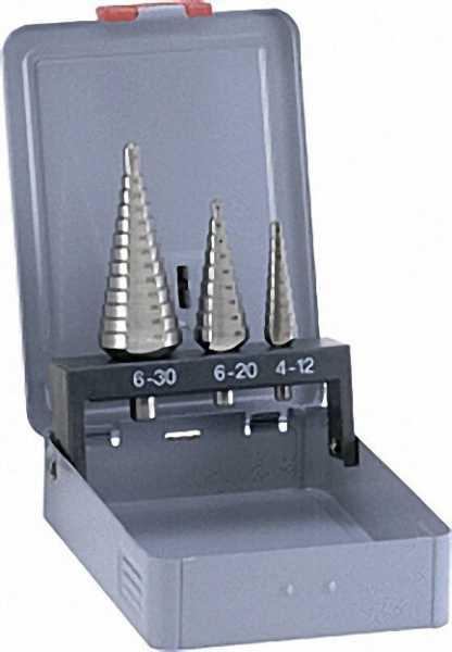 ALPEN HSS Stufenbohrersatz 3-tlg. d = 4-30mm
