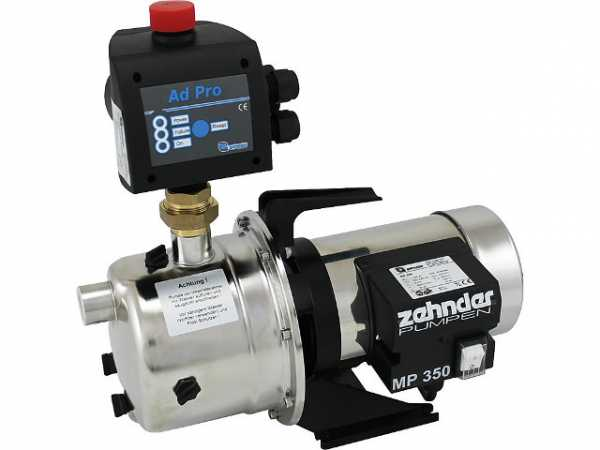 Hauswasserautomat Zehnder EPD 15-3-ZP mit Druckschalter Control AdPro