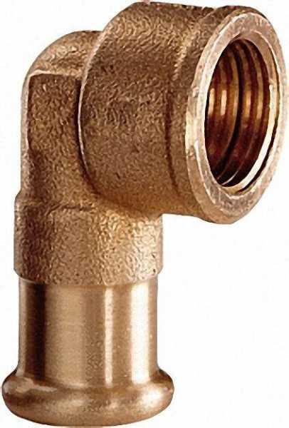 Rotguß Pressfitting Winkel 90° i/i 35x1 1/4'' Typ 6090g