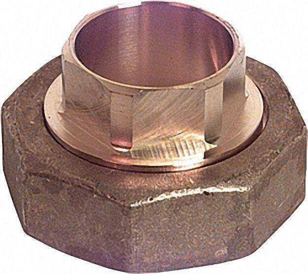SCHLÖSSER Anschlussverschraubung 15mm für Kupferrohr Eingang: 1 1/2''
