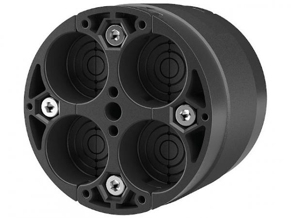 Standard-Ringraumdichtung D-Kernbohrung: 100mm 4 Kabel/D: 8-30mm