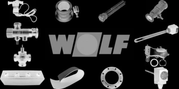 WOLF 8902054 Verkleidung vorne ohne Logo